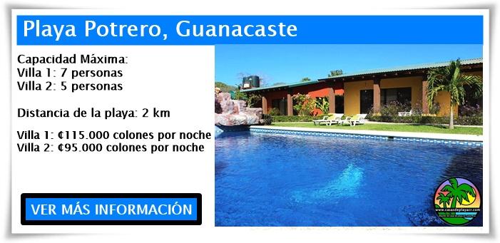 Villa equipada en Playa Potrero - Playa Danta - Pan de Azucar - Conchal