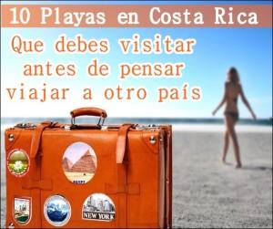 Las mejores playas de Costa Rica Top 10